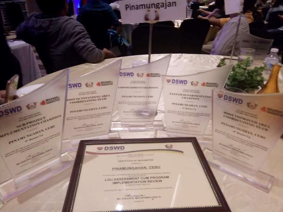 5 out of 9 awards go to Pinamungajan